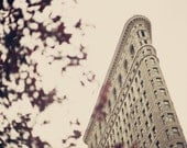 SALE, New York print, Flatiron building, NYC print, New York photography, new york city art, large art, large wall art, architecture art