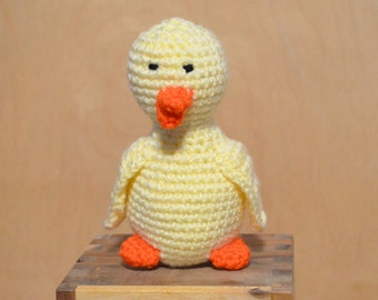 Chick, Easter Chick, Yellow Chick, Duck, Crochet Duck