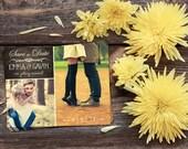 Save The Date Magnet, Card or Postcard . Vintage