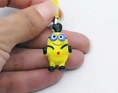 Little Cartoon Minion Phone Charms Accessory