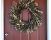 blackbeard wheat wreath