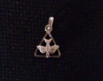 Dove/Peace Charm in Sterling Silver