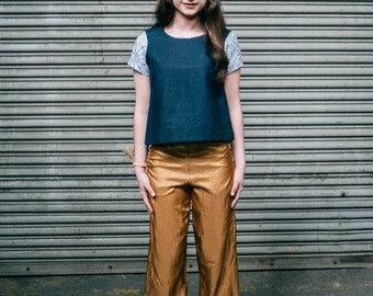 Copper High Rise Trouser