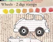 Wheels - digi stamp cars