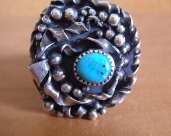 Kingman turquoise ring size 7 1/2