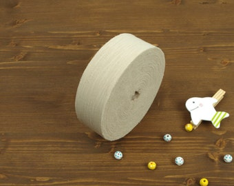 4 cm Large Roll Brushstroke Series Cotton Bias - Beige - 30 Yards - By the Roll - 89199