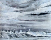The Great Pacific - Winter - Original Acrylic Painting
