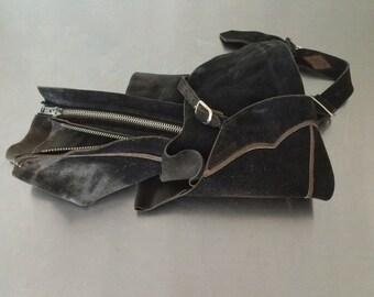 Leather Chaps- Vintage Child Cowboy Chaps