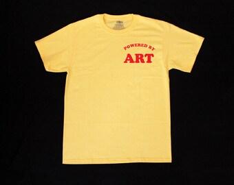Powered by ART Unisex Shirt S-2XL