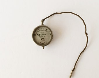 Vintage Yankee Volt Meter Pocket-Watch Style Ca. 1927, Collectible Industrial Tools