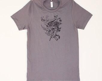 eat the rude // gray unisex tshirt