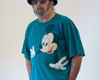 80s Mickey Mouse T-shirt, Mickey Unlimited T-shirt, Vintage Mickey Mouse Tee, Disney T-shirt, Vintage Disney Tee, 2XL