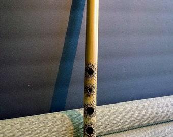 Bamboo Flute.Key of A bemol.Transcerse style.
