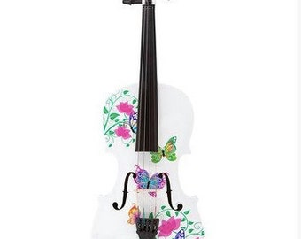 Butterfly Dream II White Violin Outfit