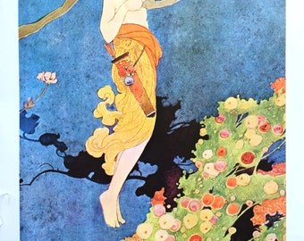 1915 CHARLES ROBINSON CUPID Print Ideal for Framing