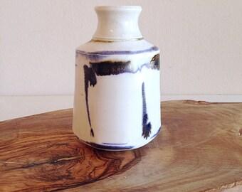 Small Vintage Studio Pottery Bud Vase