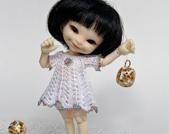 """IN STOCK Set """"Snowflake"""" for realpuki/fidelia firefly (dress and pants)"""