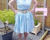 basic sloper tutorial, pdf dress pattern, basic bodice, easy tunic sewing pattern, pdf pattern, diy wardrobe, diy womens sloper, easy sewing