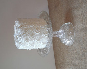 Glass Cake Stand / Cupcake Stand / Glass Pastry Stand / Dessert Stand / Wedding Cake Stand / Vintage cake stand / Baby Shower