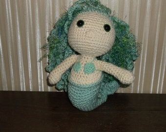 Mermaid Plush Doll Crochet