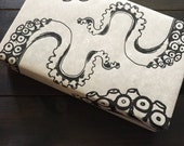 Tentacles wrapping paper, gift wrap, sea creature gift wrap, rustic, quirky wrapping paper