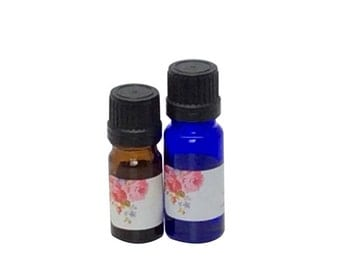 Violet Leaf Absolute Essential Oil, Pure Violet Flower Essence Oil, Viola Odorata, Therapeutic Aromatherapy Oil, Natural Perfume Ingredient