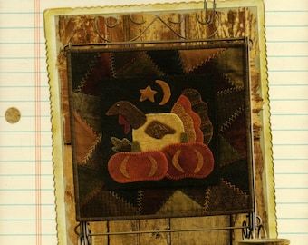 "Buttermilk Basin ""November"" Quilt/Applique Pattern BOM"