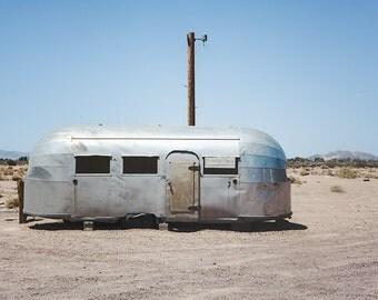 Airstream Photography, California Print, Route 66, Photography, Desert Southwest, Southwestern Home Decor, Boho Style