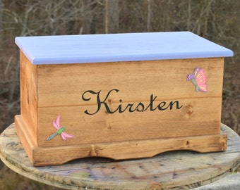 Kids Toy Box - Wooden Chest - Keepsake Box - Memory Box - Baby and Kids & Wooden toy box | Etsy Aboutintivar.Com