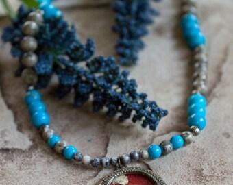 Secret locket necklace