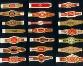 Vintage Cigar Bands - Gorgeous Details - Perfect for Collage, Decoupage, ATCs, Crafts