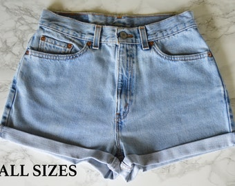 SALE! Light Wash High Waisted Shorts ALL SIZES