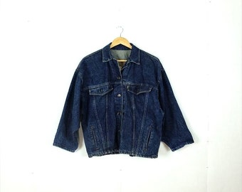 Vintage Men's  Levi's Oversized Denim jacket from 1980's *