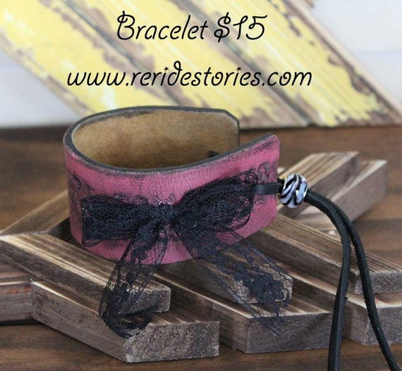 Items similar to repurposed leather belt bracelet on etsy Repurposed leather belts