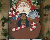 """Christmas E-Pattern """"Santa Please Stop...We've Been Good"""" by Terrie Owens"""