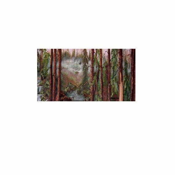 Giclee Fine Art Print  Called Eagle River