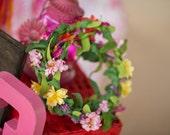 wildflower floral crown