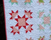 Vintage Star - digital quilt pattern - a layer cake friendly pattern - baby and lap sizes