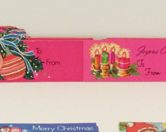 52 Vintage Christmas Gift Tags, Set #2