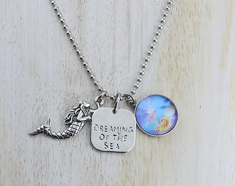 Dreaming Of The Sea Mermaid Necklace