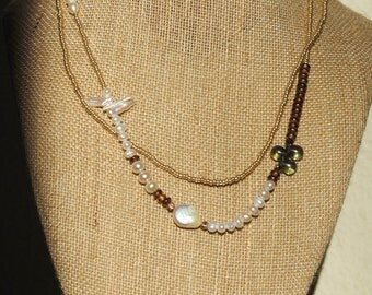 Golden Garden Necklace