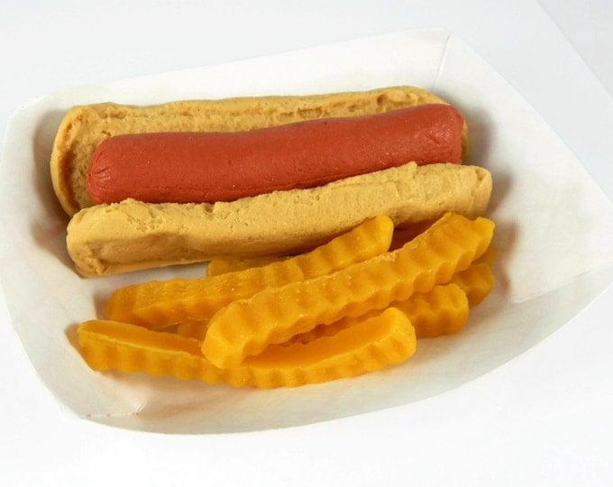 Hot Dog & Fries Soap Set