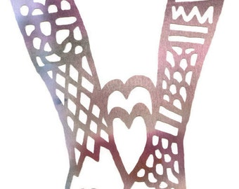 Holding hands, Paper cut. Loving hands. In love, Walk with me. Coloured paper cut.