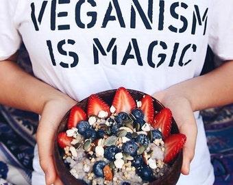 Veganism Is Magic Vegan Shirt