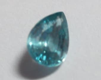 Natural Cambodian Blue Zircon .84ct