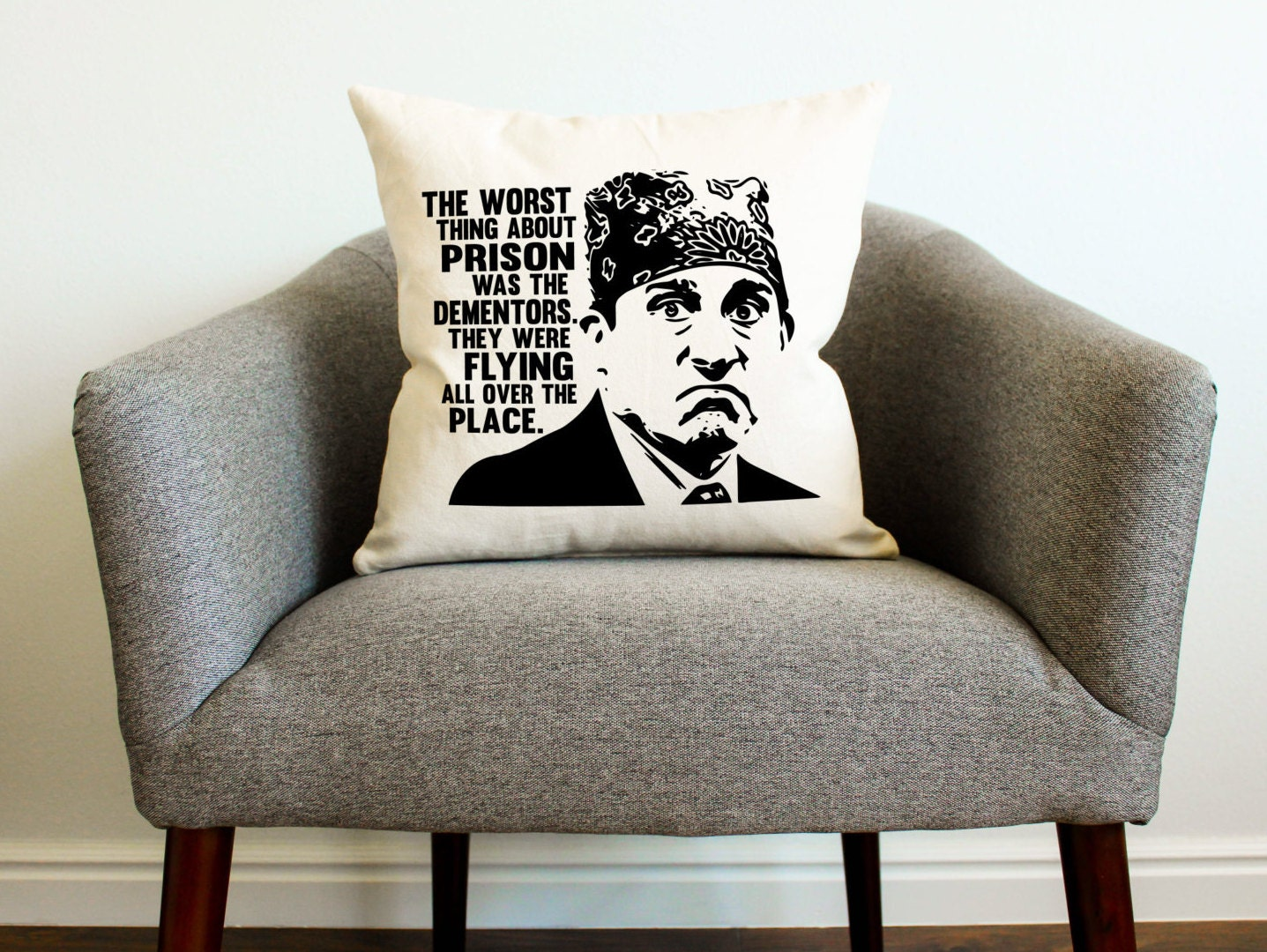 The Office Tv Show Michael Scott Prison Mike Pillow Home