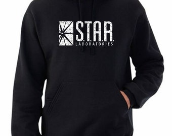 Star Laboratories Hoodie for Fans of The Flash, DC Comics