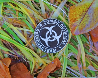 Zombie Outbreak Response Team - Pinback or Magnet Button
