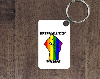 Equality now key chain