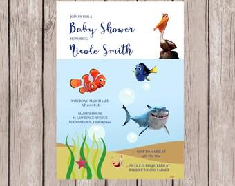 Nemo Baby Shower | Etsy
